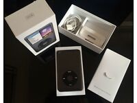 160gb Black iPod Classic w/ original box and charger