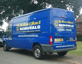 Man & Van - Removals - Middix - Herts - London - we move it move it!