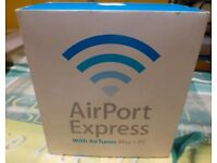 Apple Airport Express with Air tunes