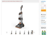 Vax Dual Power Pro Carpet Cleaner (3 months old) Paid £249.99 Still has nearly 6 Yr Guarantee