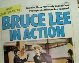 Bruce Lee x 2 booklets