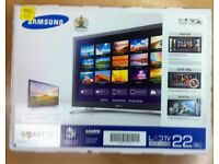 """Samsung 22"""" Full HD LED Smart TV with Wi-Fi & Freeview HD"""