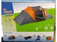 4 Man Tent Pack,4 x Sleeping Bags,4 x Sleeping Mats,1 Carry Bag