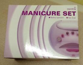 NEW Battery operated Manicure Set