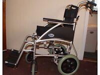 "Days Healthcare Ultra Lightweight Swift Transit Wheelchair SWIFT41TR 16"" seat"