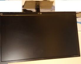 "Used Good Condition 24"" LG Monitor LGE2442 - £40"