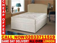 Brand New Double Divan Bed Available with Mattress Ronda