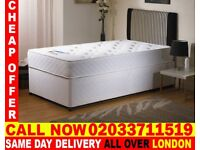 Brand New Single Divan Bed Available with Mattress Caldwell