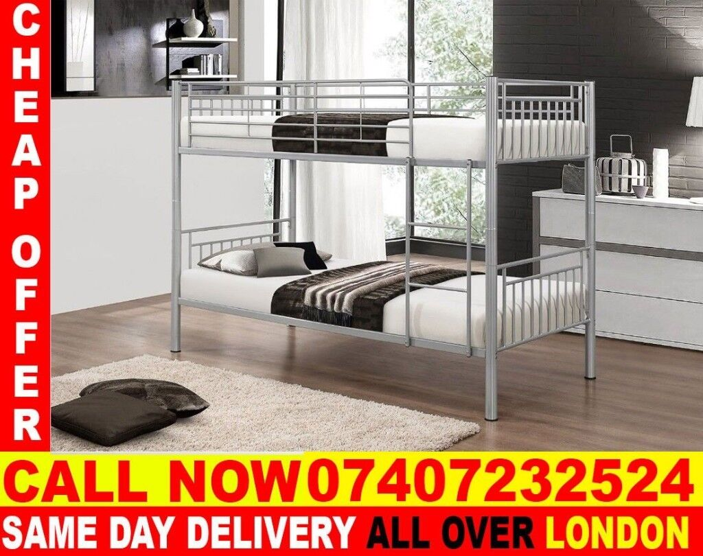 Best Quality Single Metal Bunk Bed Frame And Mattress Capitol