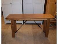 BARNSLEY OAK Console Table