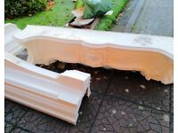 Adams Dauphin Fire Surround - Dismantled