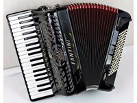Fantini Special Accordion - 37 Treble / 96 Bass - 4 Voice Musette - Hand Made Reeds