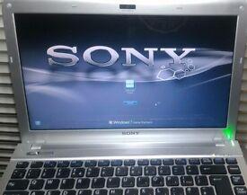 "Laptop 13.3"" SONY VAIO Intel Pentium DualCore, 3GB RAM, 320GB HDD, Wi-Fi, HDMI, new Win7 bargain!"