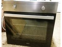 BEKO,STAINLESS STEEL,ELECTRIC FAN OVEN/GRILL. IMMACULATE CONDITION.