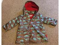 Boys 1-2 Years Dinosaur Raincoat