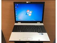 Fujitsu Quick Laptop (Kodi) 3GB Ram, 160GB, Windows 7, Microsoft office, Very Good Condition