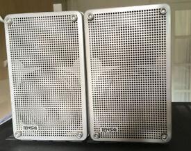 40Watts TENSAI TS 920 Two Way Bookshelf Stereo Mini Speakers Japan