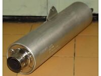 Original Suzuki GSXR750 WX exhaust silencer can
