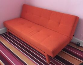 Stylish Futon Sofa Bed in Great Condition