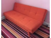 Stylish Futon Sofa Bed in Great Condition. Reduced For Quick Sale