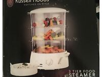Russell Hobbs 3-Tier Steamer, great condition, with original box