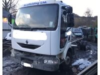 Renault Midlum 7.5 lorry 2001 chassis cab only
