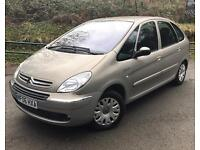 citron Picasso Xsara 1.6 Hdi Lowe miles full services history and new m.o.t