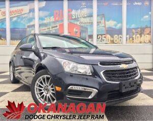 2015 Chevrolet Cruze TURBO DIESEL   Leather   2 Sets of Tires &