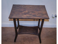 Vintage Retro Mid century Modern Walnut Occasional Table