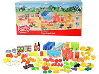 Brand New Chad Valley 120 Piece Play Food Set / Role Play Toys / Food Toys / Supermarket Toys