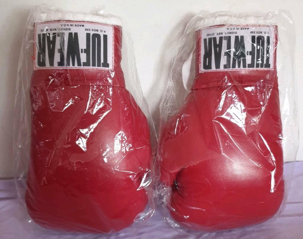 Tuf Wear boxing gloves vintage like the ones in Rocky IV | in Ladbroke  Grove, London | Gumtree