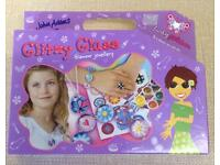 NEW John Adams Glitzy Glass Jewellery Making Set