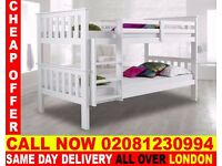 WOW SUPPER QUALITY Double Single WOODEN Bunk Base, That convert into two- /Bedding San Jose