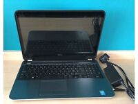 Dell Inspiron Touch 15R -5537- core i7-4500U ,8GB ram ,1TB hdd, Windows 10