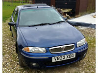 1999 Rover 214. MOT October