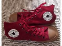Converse ladies suede baseball boots size 5