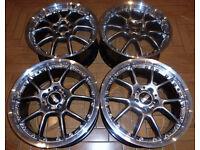18'' Genuine BBS Alloys, 2 piece splits - Mint! Audi * VW * Seat * Mercedes