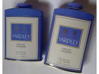 designer parfums ltd 57av  Yardley English Lavender Perfumed Talc, 200g, Older Design Packaging