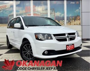2017 Dodge Grand Caravan R/T V6 | Leather | Stow N Go | Heated S