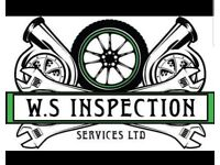 WS Inspection Services. MOT test centre and mechanical repair workshop