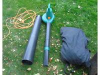 1800W Blower Vac - Garden Leaf Blower and vacuum