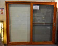 SLIDING DOOR, SOLID CEDAR TIMBER, FLY SCREEN 1800WX2100MMH NEW Vineyard Hawkesbury Area Preview
