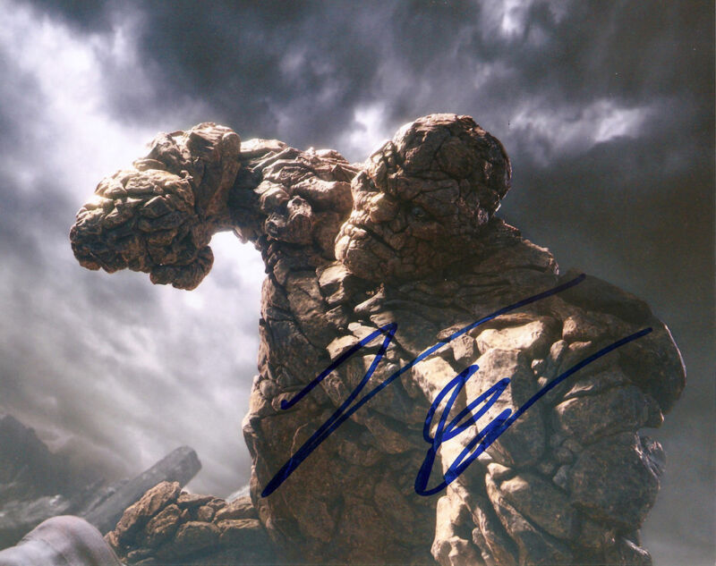 JAMIE BELL GENUINE AUTHENTIC SIGNED FANTASTIC FOUR 10X8 PHOTO AFTAL UACC [11789]