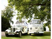 VW Campervan Wedding Hire, Beauford & Rolls Royce Wedding Cars Edinburgh, West Lothian & Fife