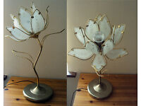 Retro Vintage Flower Lamp
