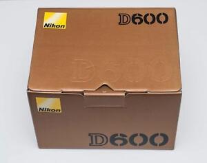 Nikon D600 full frame DSLR body