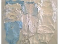 Small Baby boy clothing bundle (suitable for 5-7lbs)