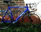 LIGHTWEIGHT Ribble 58cm Aluminium Road bike, Carbon Forks, Shimano Sora