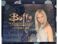 Buffy the vampire slayer chess set Never opened