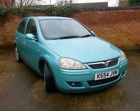 Vauxhall Corsa 1.7 CDTi SRi 5dr 2004 Sea Blue 113k MOT